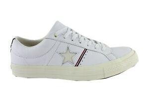 Converse-All-Star-Chucks-une-Star-B-uf-Chaussures-Baskets-159694C-Cuir-Gr-44