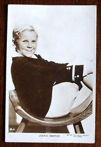 Old  sepia Real Photo Film Star Postcard  Jackie Cooper - Cambridge, United Kingdom - Old  sepia Real Photo Film Star Postcard  Jackie Cooper - Cambridge, United Kingdom