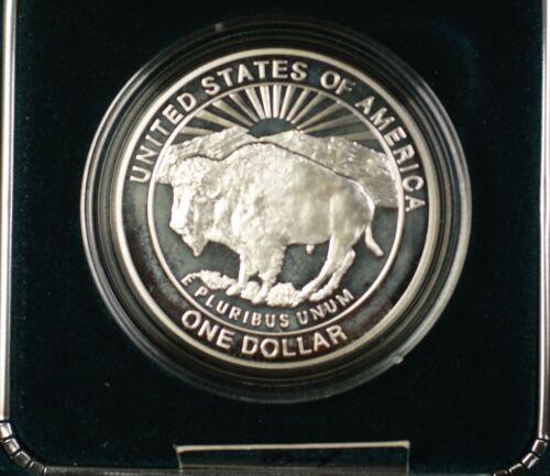1999 Yellowstone National Park Commemorative Proof Silver Dollar $1 Coin /& COA