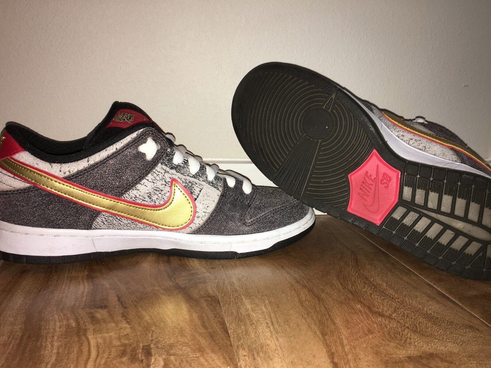 Worn Once Nike SB Dunk Low Premium QS Beijing Size 9