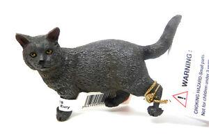 4-7-4-Nuovo-Papo-54040-Gatto-Kartauser-Animali-Domestici-Statuette-Figure-di
