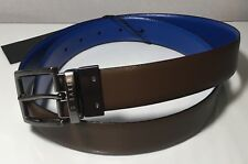 """a355ec796 item 4 Ted Baker LONGAS Reversible leather belt - CHOCOLATE SIZE 34""""RRP  £49.00 -Ted Baker LONGAS Reversible leather belt - CHOCOLATE SIZE 34""""RRP  £49.00"""