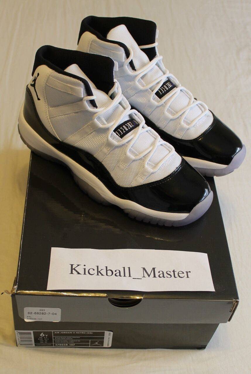 NEW DS Nike Air Jordan 11 Retro XI Concord Size 6