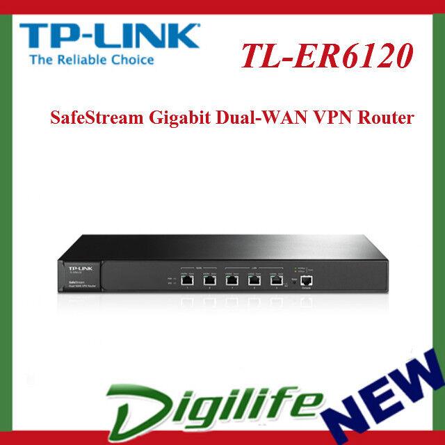 TP-LINK Er6120 Safestream? Gigabit Dual-wan VPN Router