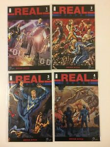 Complete-Set-Real-Heroes-1-2-3-4-Image-Comics-2014-VF-NM