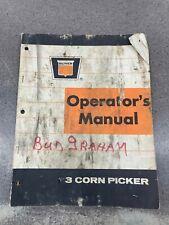 Oliver Corn Picker Operators Manual 442011