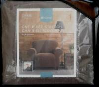 Target Home One-piece Stretch Chair Slipcover - Oar Brown - Brand In Package