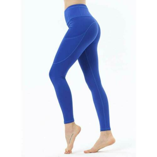 Womens High Waist Yoga Leggings Workout Fitness Ladies Sports Gym Pants Trousers