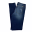thumbnail 4 - KanCan Mason Mid Rise Leopard Patch Skinny Distressed Jeans Rolled Hem 7 27
