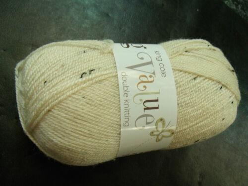 King Cole Big Value Double Knitting Yarn 100g Ball Nutmeg 1739
