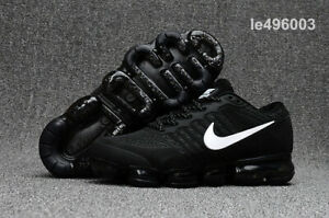 brand new 3f4bf 4ba0b Details about NIKE VaporMax Air Max 2018 men's running shoes Black