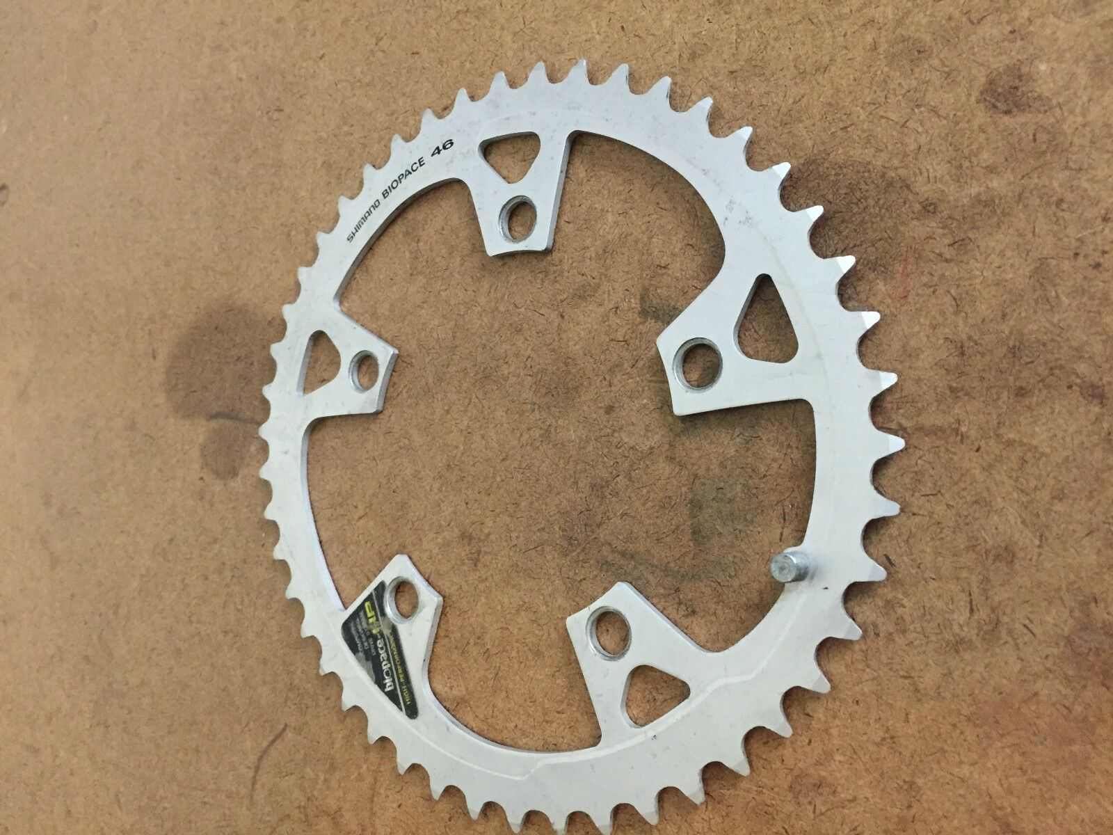 Vintage Shimano Biopace HP 46t chainring 110 BCD Clean