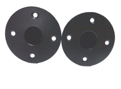 Two  DJ//PA Metal Tripod Speaker Stand Mounting Internal Adapters 2 Top Hat