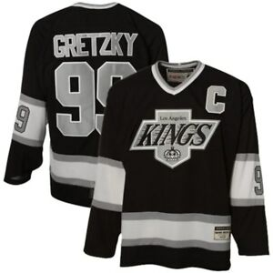 wholesale dealer d7d7d 7a969 Details about WAYNE GRETZKY LA KINGS CCM Heroes Of Hockey OfficialLy  Licensed NHL Jersey siz M