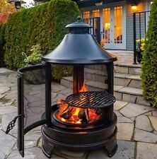 Northwest Sourcing Outdoor Fire Pit Cooking Grilling BBQ Heater For Garden Patio