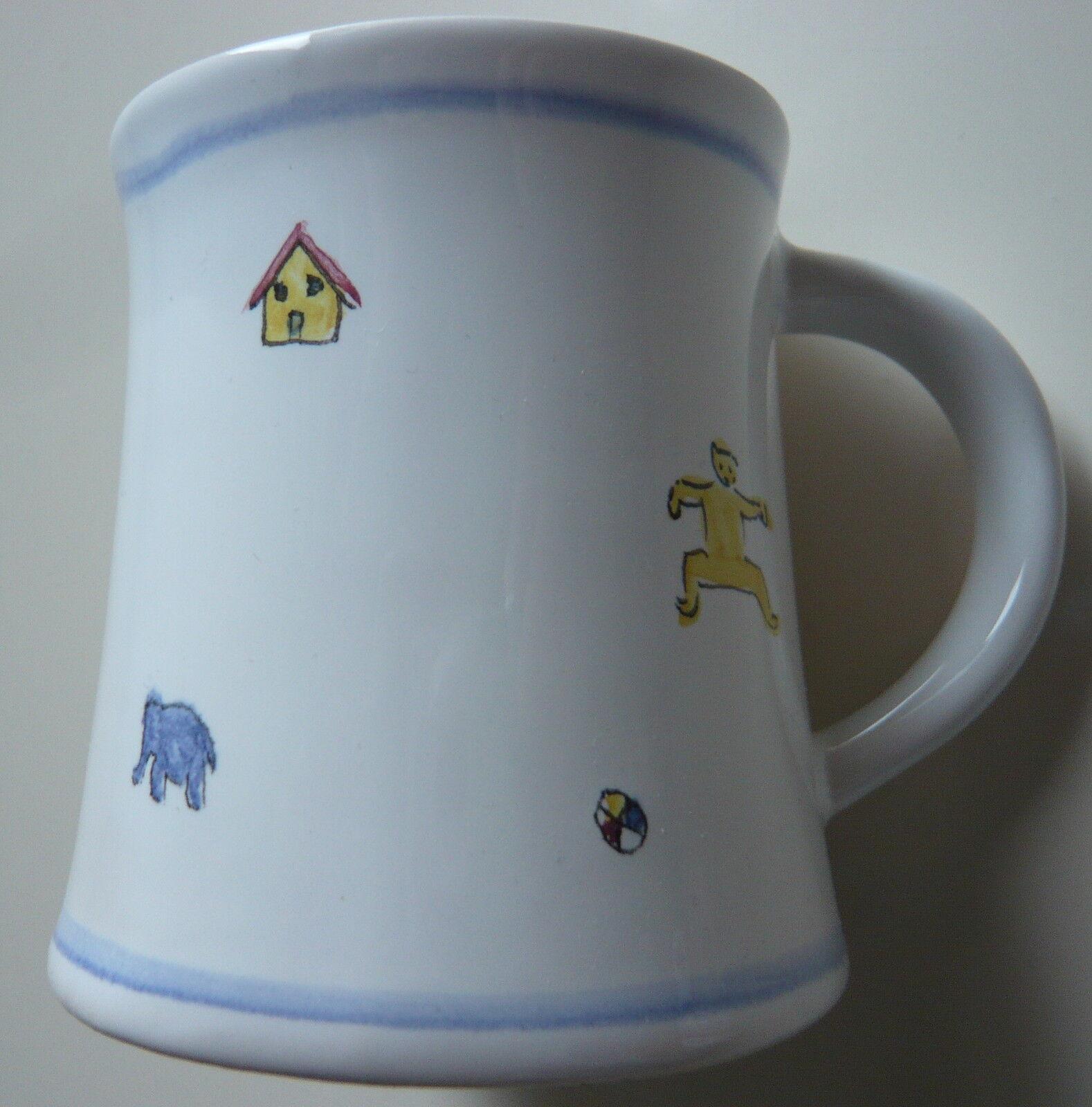 Hedwig Bollhagen Kinderbecher Keramik Tasse Dekor 253 Spielzeug lose  | Bekannt für seine hervorragende Qualität