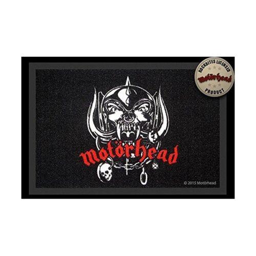 40 x 60 cm Motörhead Logo Fussmatte // Teppich 100877 NEU!