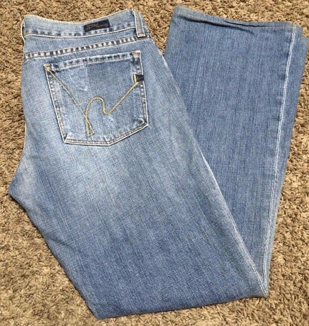 COH CITIZENS OF HUMANITY 207 Women's Jeans Kelly Low Boot Size 31
