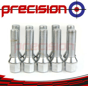 10-Extended-Bolts-Nuts-for-BMW-2011-On-with-20mm-Spacers