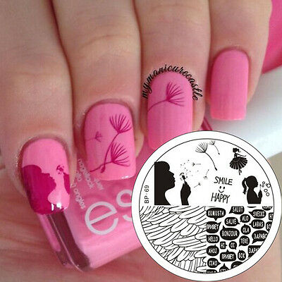 Chic Lace Nail Art Stamping Stamp Template Image Stencil Plate BORN PRETTY 02