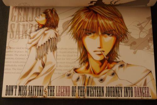 Genjyo Sanzo Japanese Book Japan Saiyuki Postcard Book Kazuya Minekura Purple