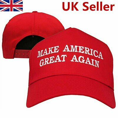 MAGA President Donald Trump RED Hat Success Cap Republican Embroidered Durable