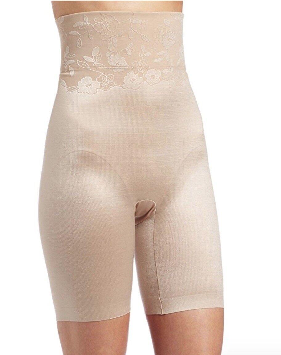 Bali Powershape High Waist Thigh Slimmer-Nude-Medium