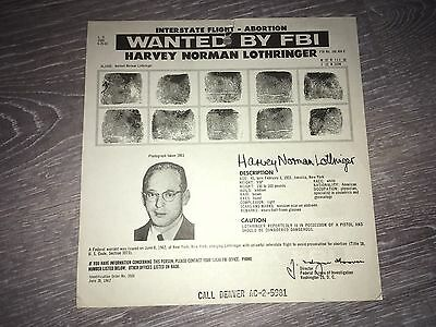 NOTORIOUS ANTI-ABORTION ACTIVIST CLAYTON WAAGNER FBI WANTED POSTER *MAKE OFFER*