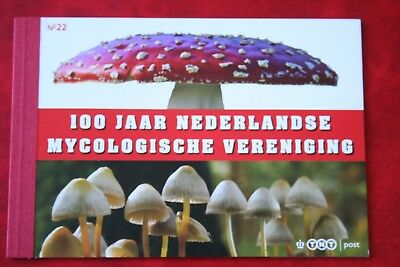 Europa Niederlande 2008 Prestige Markenheft Pr22 Mykologische V Pilze Mnh **