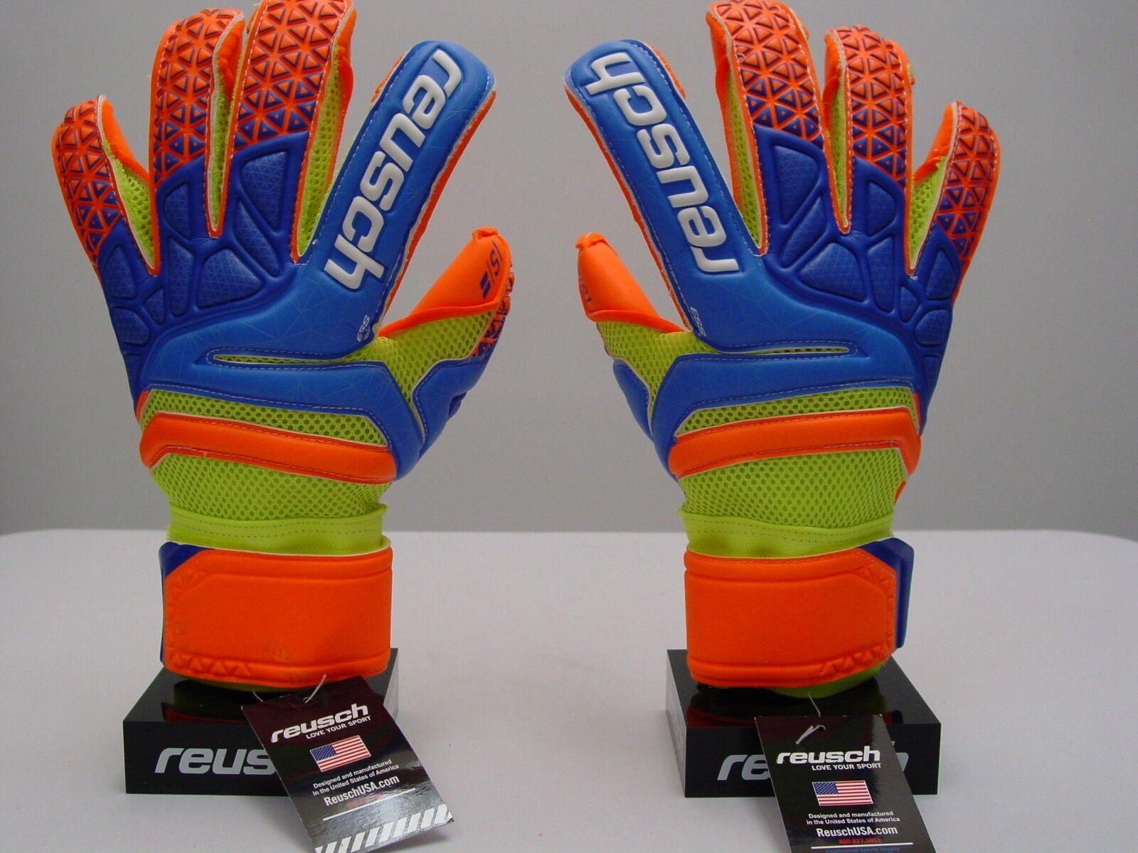 Reusch Guantes De Arquero De Fútbol Prisma del S1 Evolution 3870238S tamaño 9 de soporte de dedo