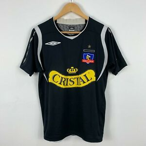 Umbro-Colo-Colo-Football-Soccer-Jersey-Mens-Small-Short-Sleeve-2008-2009-Retro