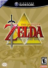 The Legend Of Zelda Collector 's Edition Gamecube enmarcado impresión (cueva de hombre Foto)