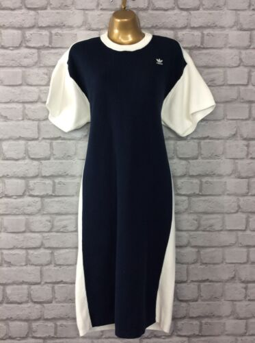 Adidas Navy Knit Robe 00 Blu 10 Originals Tshirt 135 Hyke Uk Femmes Rrp f0zwAdq