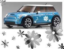 16 30X30CM Mixed Daisy Flower Shape Vinyl Car Vehicle Wall Graphic Sticker Decal