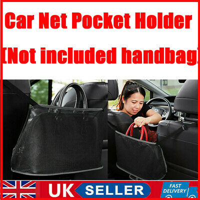 Advanced Car Net Pocket Handbag Holder Organizer Seat Side Storage Mesh Net Bag