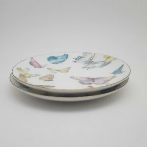 Williams-Sonoma-Butterfly-Salad-Plates-Set-of-2