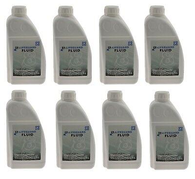For Audi BMW Jaguar Land Rover Set of 8 Liters Auto Trans Fluid ZF  LIFEGUARD 8 | eBay