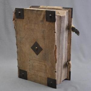 Luther-Bible-Biblia-Cotta-edition-Tubingen-1729-gros-folio-11-6-kg-46x30cm