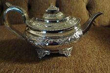 Sterling silver english teapot