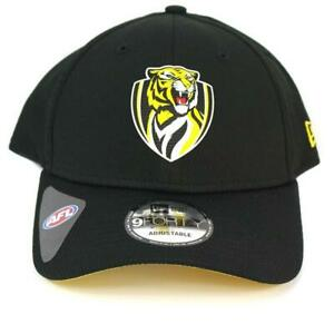 New-Era-Richmond-Tigers-Team-9Forty-Hat-Genuine-Cap-In-Black
