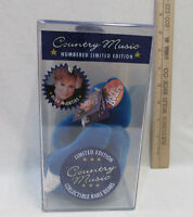 Limited Edition Country Music Collectible Rare Bear Reba Mcentire Boxed
