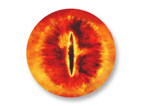 Magnet Aimant Frigo Ø38mm Le Seigneur Des Anneaux Oeil de Sauron