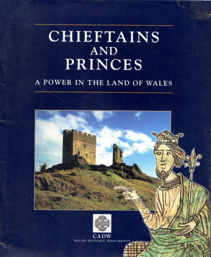 "1 of 1 - CHARLES KIGHTLY - ""CHIEFTAINS AND PRINCES - A POWER IN WALES"" - CADW PB (1996)"