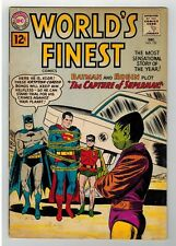 WORLD'S FINEST #122 - DICK DILLIN COVER - GREEN ARROW STORY - DC COMIC - 1961
