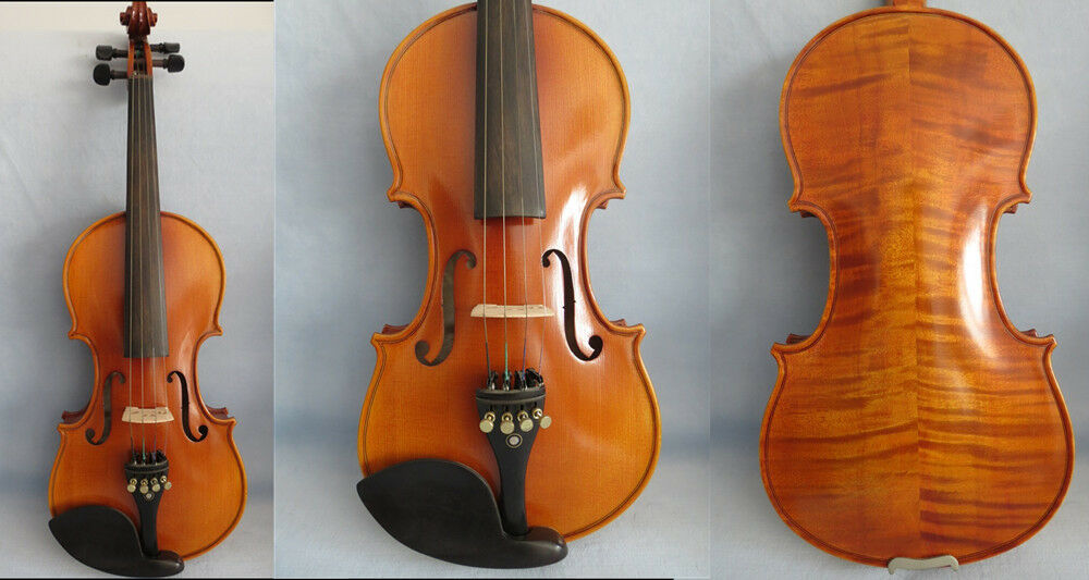 Strad style Massivholz SONG Brand violine 3 4, riesig und resonant sound