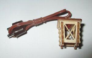 Kahlert-Holz-Laterne-Avec-LED-Pour-Creches-18mm-Bois-3-5-Volt-Neuf-Emballage