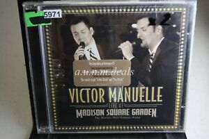 Victor-Manuelle-Live-At-Madison-Square-Garden-2007-Music-CD-NEW