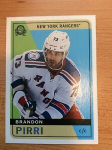 O-Pee-Chee-2017-2018-BRANDON-PIRRI-RETRO-HOCKEY-CARD-340-NEW-YORK-RANGERS