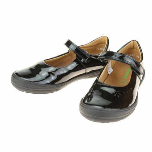 Froddo G31400531 Filles Noir Verni École Chaussures-Filles École Chaussures