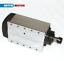 ES-3KW-ER20-220V-Square-Air-Cooled-Spindle-Motor-4KW-Inverter-VFD-Collets-CNC miniatura 7
